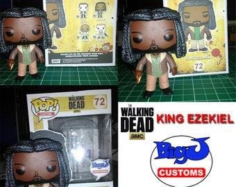 Custom King Ezekiel Funko Pop - The Walking Dead
