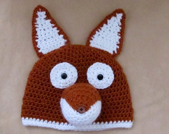 Foxie the Friendly hat