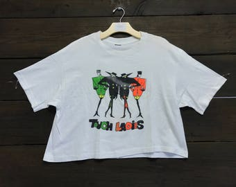 """Vintage 80s """"Touch Ladies"""" Graphic Tee"""