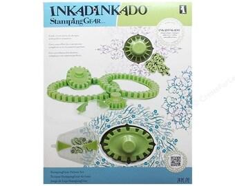 Stamping Kit Set 24 Pieces Inkadinkado  Deluxe Stamping Gear