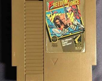 Freedom Force Nintendo NES Video Game NA Version Cartridge Only From 1988