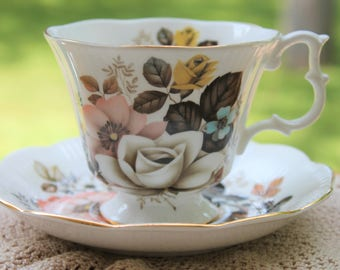 Royal Albert Bone China Teacup and Saucer