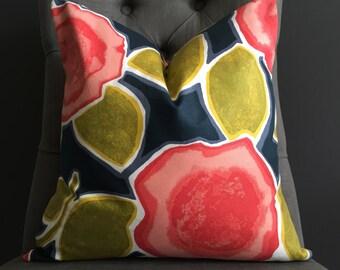 Pillow Cover, Floral Pillow Cover, IRIS