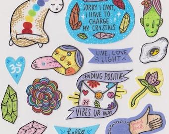 Hippy Dippy Sticker Pack