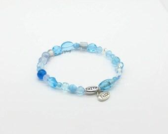 Faith and Peace Strech Bracelet