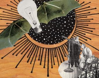 Mixed Media Collage Art >>PRINT<<