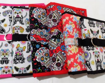 E reader Cover - Tablet Cover - Day of the Dead Skulls Tablet Cover - Kindle Cover - Skulls Tablet Cover -  Puppies Skulls Tablet Cover