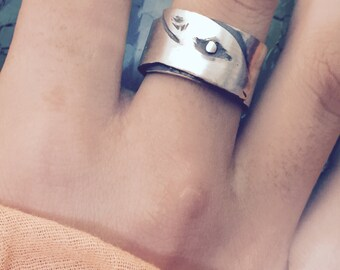 Sterling Silver Calf Ring