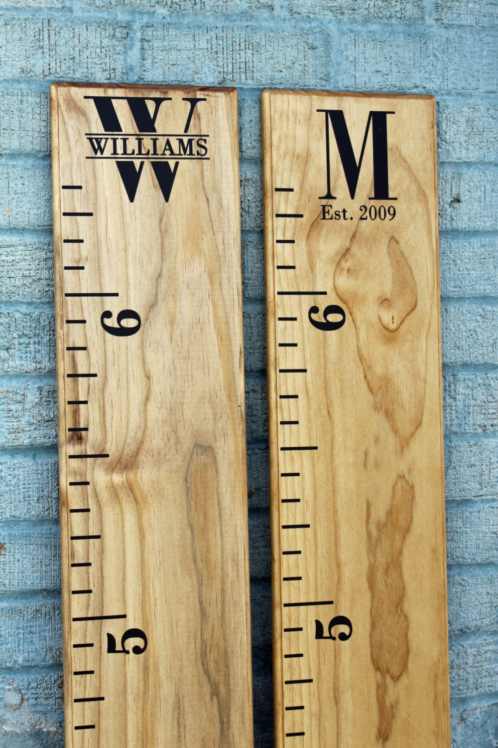 Growth chart ruler add on custom personalization decal request a custom order and have something made just for you geenschuldenfo Choice Image