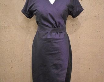 Shorline Silk Wrap Dress