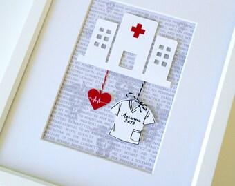 Unique Christmas Gift For Nurse, Graduation Gift For Nurse, Nurse Present, Nursing Gift, New Nurse Present, Nursing School Graduation Gift