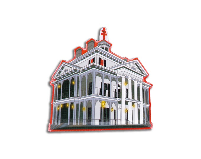 Scary Mansion Pin