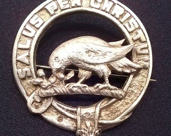 SCOTTISH CLAN BROOCH