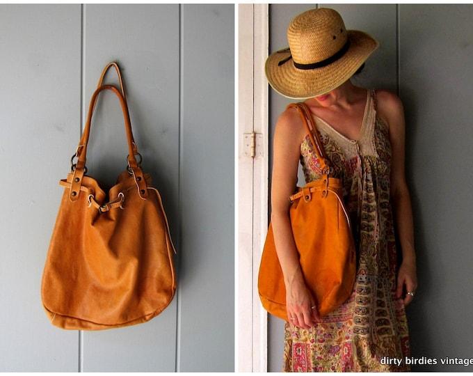 Large Leather Hobo Bag