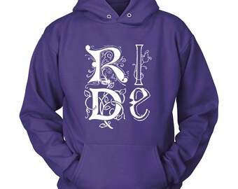 Ride  / Artistic Horse Hoodie / Horse Sweatshirt  / Gift for Horse Lover / Equestrian Gift / Horse Shirt / Horse Hoody / Horse Clothing