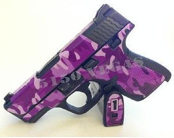 Custom Gun Wrap for Glock 43