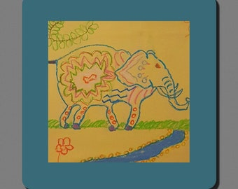Coaster - Izzy's Elephant