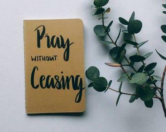 Blank Journal- Notebook- Sermon Notes- Prayer Journal