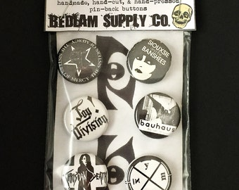 """Forever Goth 1"""" Button Set"""