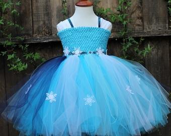 Frozen dress - Disney Elsa Dress - Elsa costume - Disney Elsa Costume, Elsa Princess Dress,  Frozen costume Elsa Tutu Dress