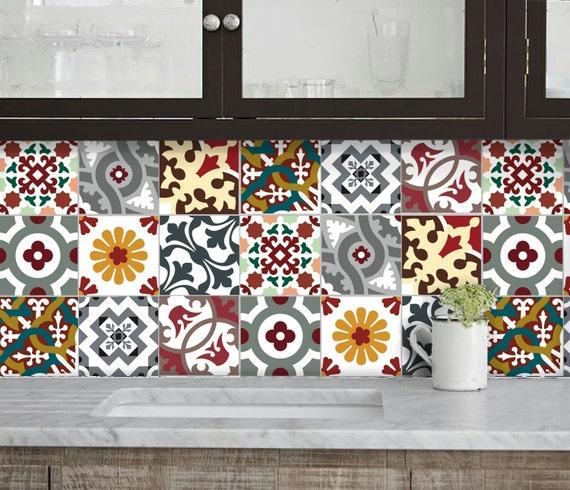 Cucina bagno mattonelle adesivi vinile adesivo barcellona for Mattonelle in vinile