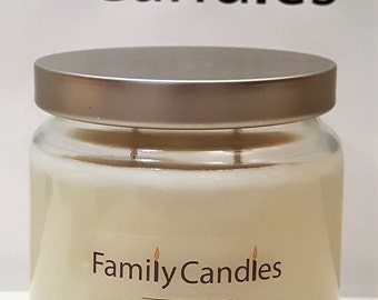 Family Candles - Chocolate Fudge 16 oz Double Wicked Soy Candle