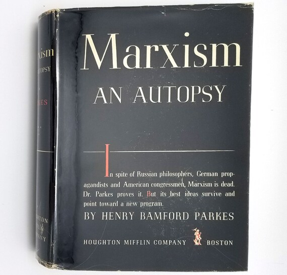 Marxism: An Autopsy by Henry Bamford Parkes 1939 1st Edition Hardcover HC w/ Dust Jacket DJ - Houghton Mifflin