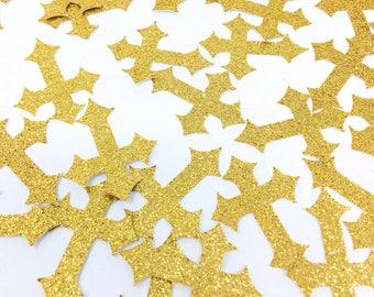 Cross Baptism Confetti- 50 Pieces