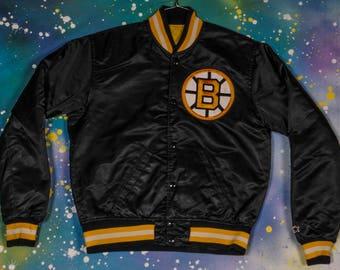 Boston BRUINS  Starter Jacket Size -Youth- L