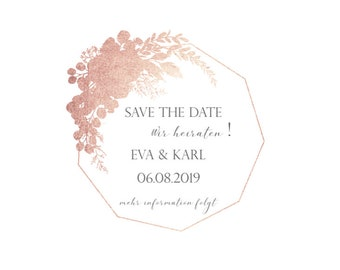 Save the Date, E version, Electronic Invitation for Save the date
