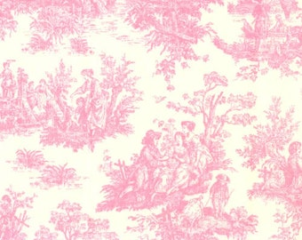 Custom Ironing Board Cover Jamestown PINK TOILE