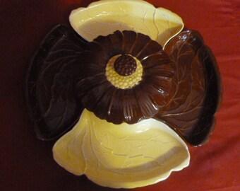 6 piece Sunflower serving set, Valley Vista