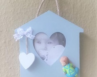 polymer clay baby frame