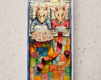 Phone Cover - iPhone,Samsung Galaxy, & more - Mice - Illustration - Cover - Mobile Phone