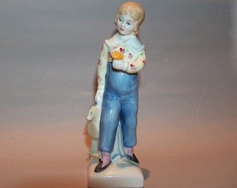 8557: Royal Doulton Tom Figurine HN2864 Kate Greenway Excellent Condition Made in England Vintage Fine Bone China at Vintageway Furniture