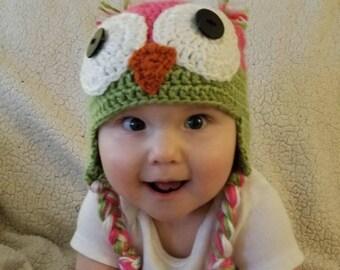 Lizz Owl Beanie