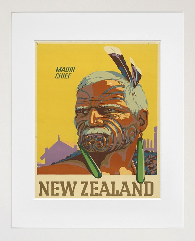 Travel Art New Zealand Print Poster Vintage Home Decor XR89