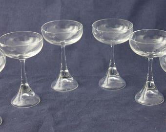 6 shot glasses Bugle Sigrid Hartmann Reelitz Rosenthal 1970