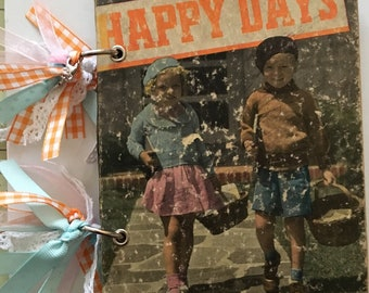 Happy Days Vintage Junk Journal
