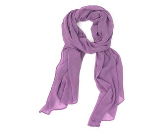 SCARVES |  Lavender | FASHION Accessories | ALPHONSINA