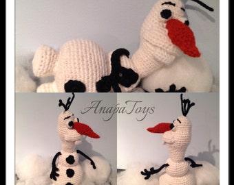 Amigurumi Patterns Olaf : Olaf amigurumi etsy