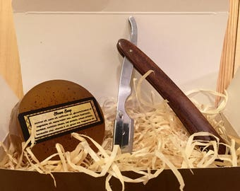 Handcrafted Razor and Shave Soap Father's Day