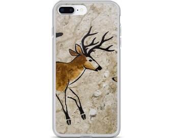 iPhone Cases, iPhone X Case, iPhone 6/6S, iPhone 7/7+ Cases ,Case iPhone 8/8+ Case, wildlife deer print