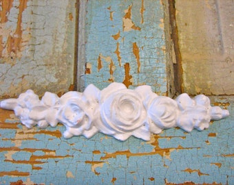 Shabby Chic Roses FURNITURE APPLIQUES 5.95 no limit shipping in the USA