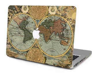 World map decal etsy world navigation map vintage vinyl sticker skin decal cover top case for apple macbook pro gumiabroncs Choice Image