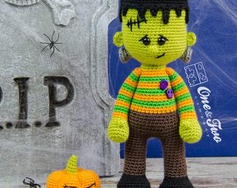 Frankie Amigurumi - PDF Crochet Pattern - Instant Download - Amigurumi crochet Cuddy Stuff Plush
