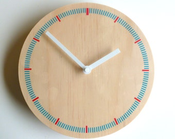 Objectify Markers Wall Clock - Medium Size