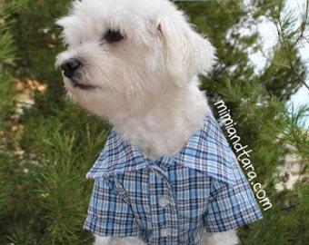 Dog Shirt Pattern size M, Sewing Pattern, Dog Clothes Pattern, Dog Shirt