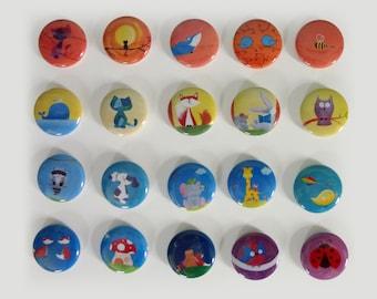 ANY 30 Woodland Magnets