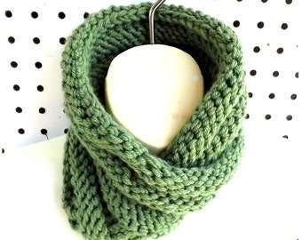 Knit Infinity Scarf Pattern Knitted,  Knit Scarf Pattern,  Knit Cowl Pattern,  Boa Oversized Knitting Pattern